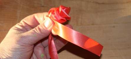 Flower pen craft cloth rose petals how to make kids craft mightylinksfo