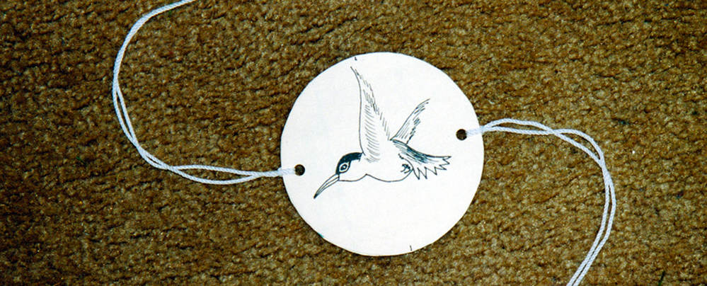 Hummingbird Spinner Children S Art
